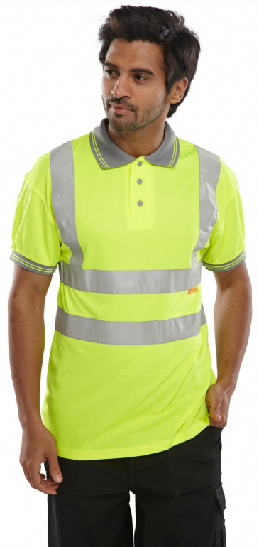 B Seen Hi Vis Polo Shirt